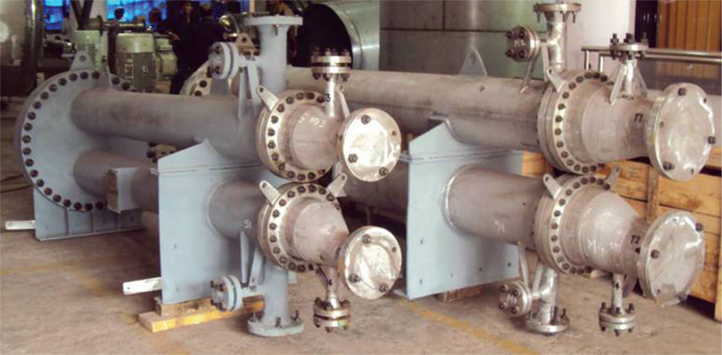 Hair-pin Heat Exchanger supplied to M/s. Gujarat Narmada Valley Fertilizers Ltd.