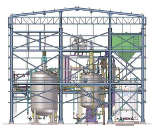 DCS Controlled Process plant Exported on LSTK