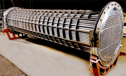 Helical Baffle Heat Exchanger